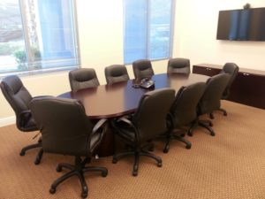 Meeting Room with video conferencing