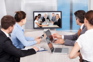 Meeting collaboration thru video conferencing